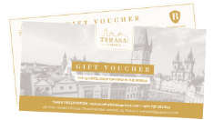 gift voucher bar grill terasa u prince prague