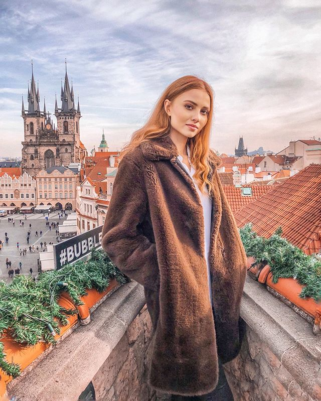 @adela.maderycova at the view Prague 1
